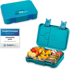 schmatzfatz junior Kinder Lunchbox, Bento Box mit...